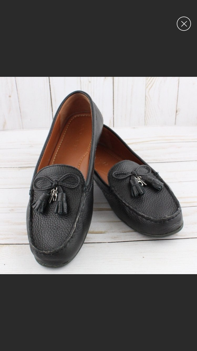 Coach Loafer driving shoes 7b 'Nadia'