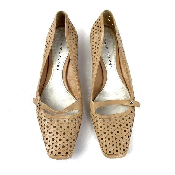 Marc Jacobs Perforated Retro Flats