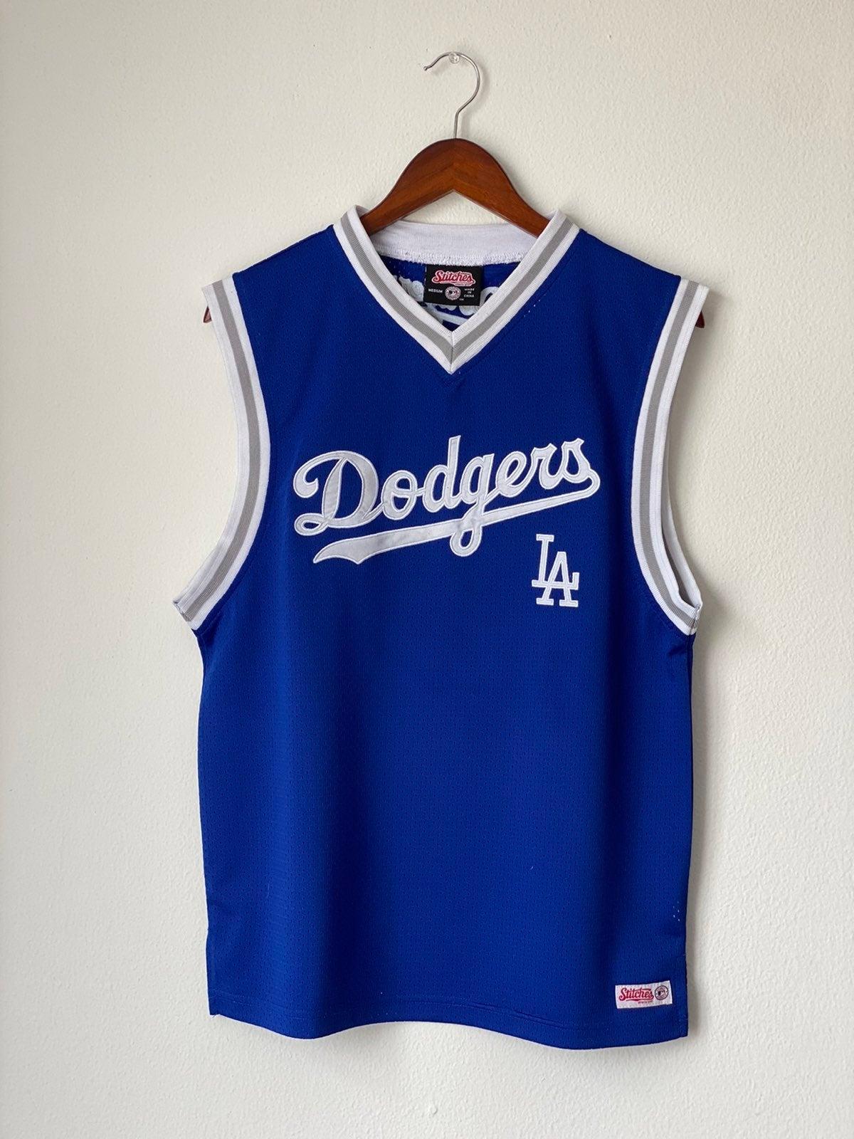 Stitches Los Angeles Dodgers Jersey Sz M