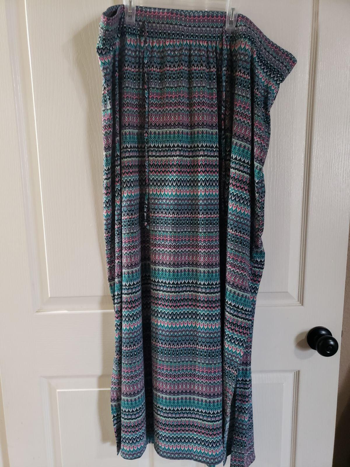 Lane Bryant skirt multicolor size 22/24