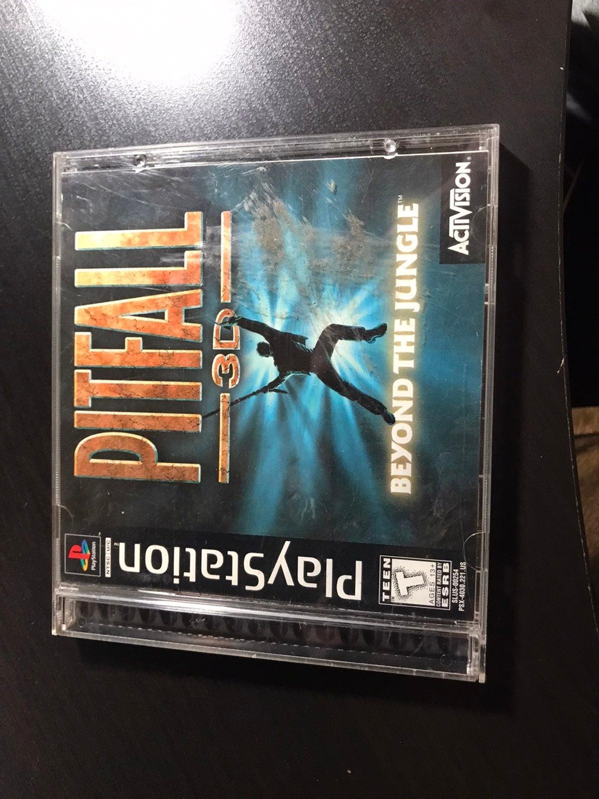 Pitfall 3D: Beyond the Jungle on Playsta