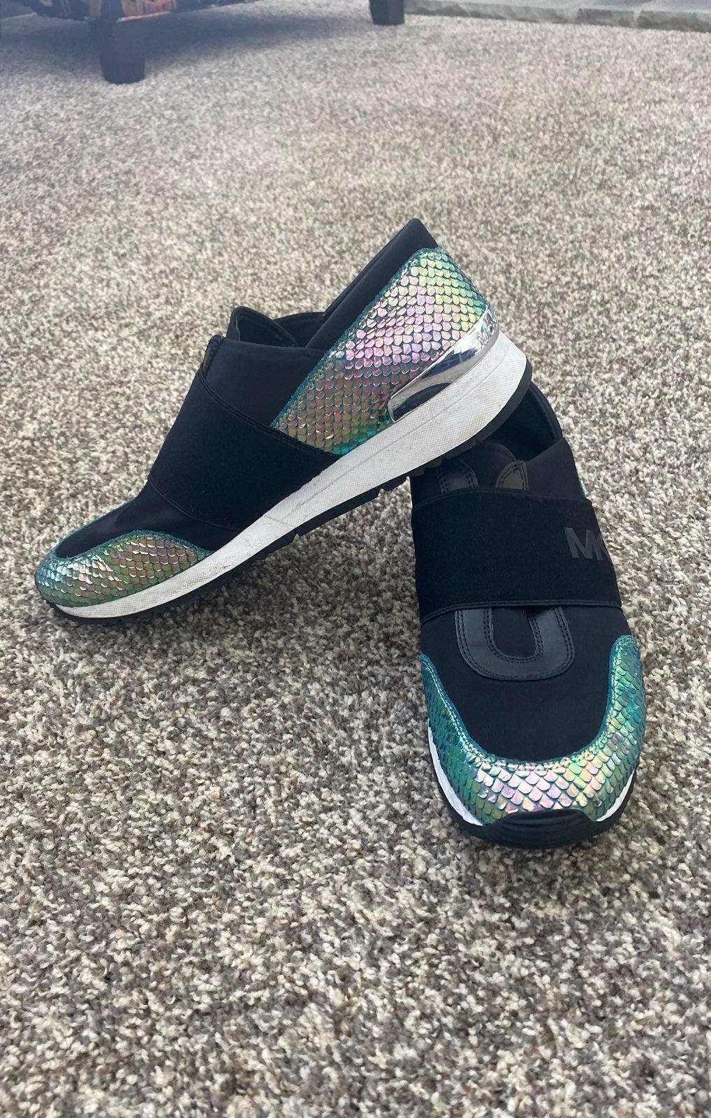Michael Kors Holgram/Iridescent Sneaker