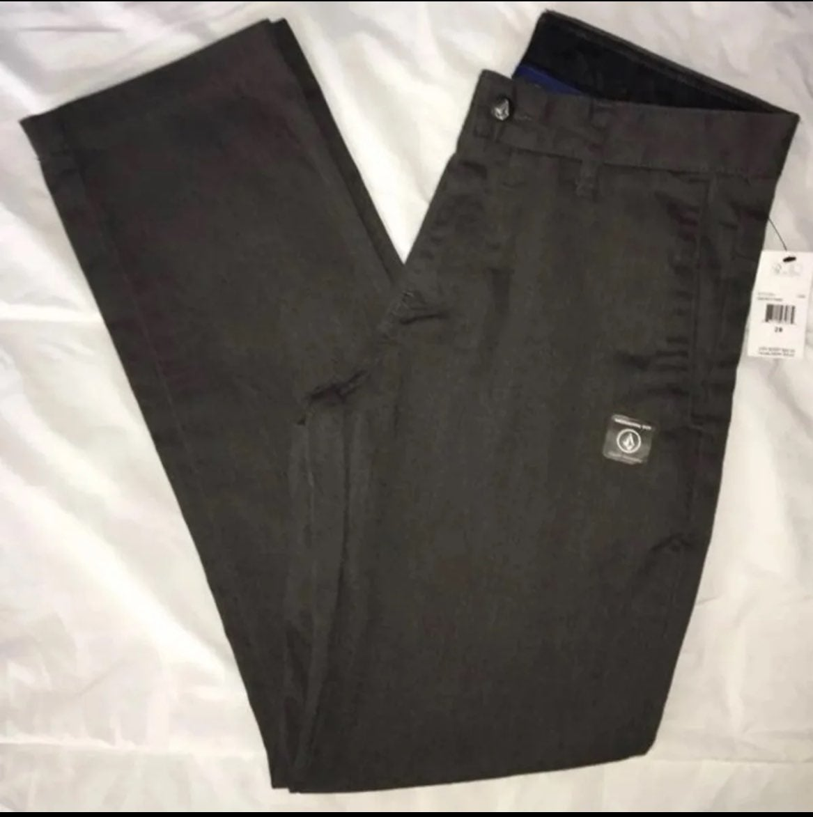 New Volcom 28 mens gray pants