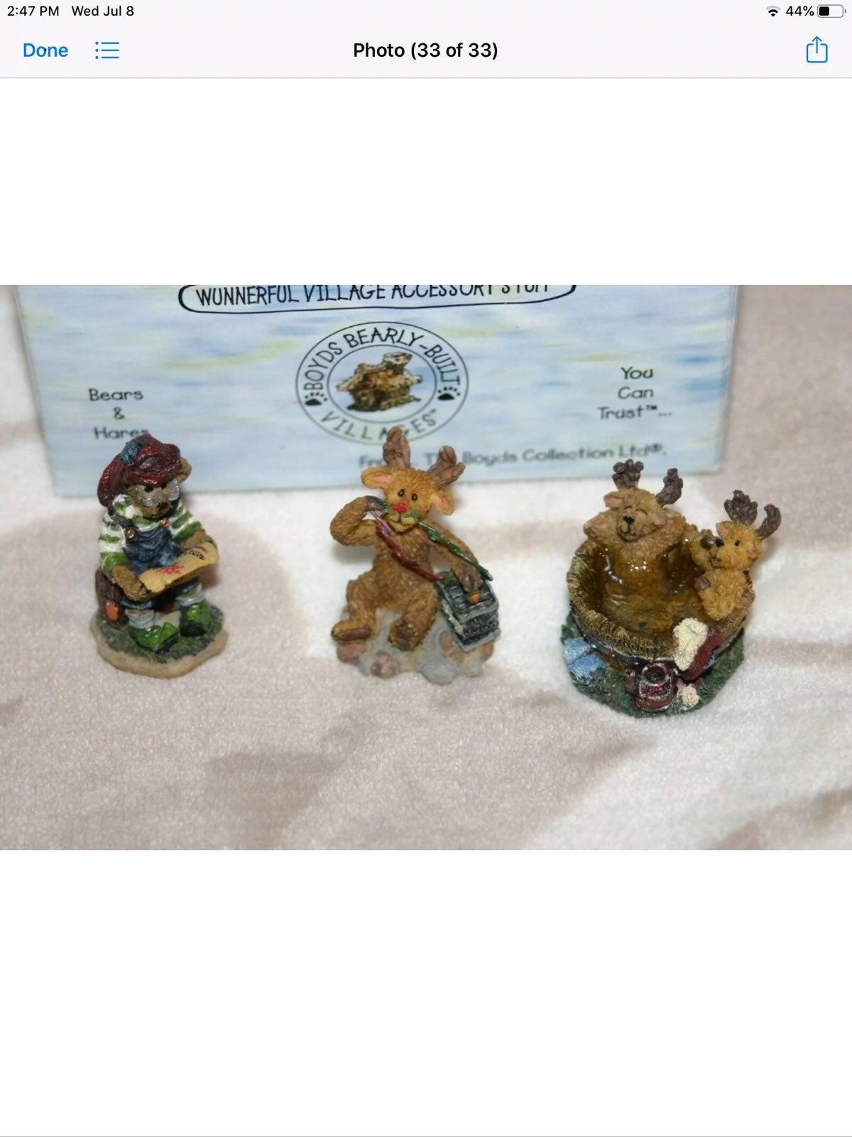 Boyds bear villages accessories