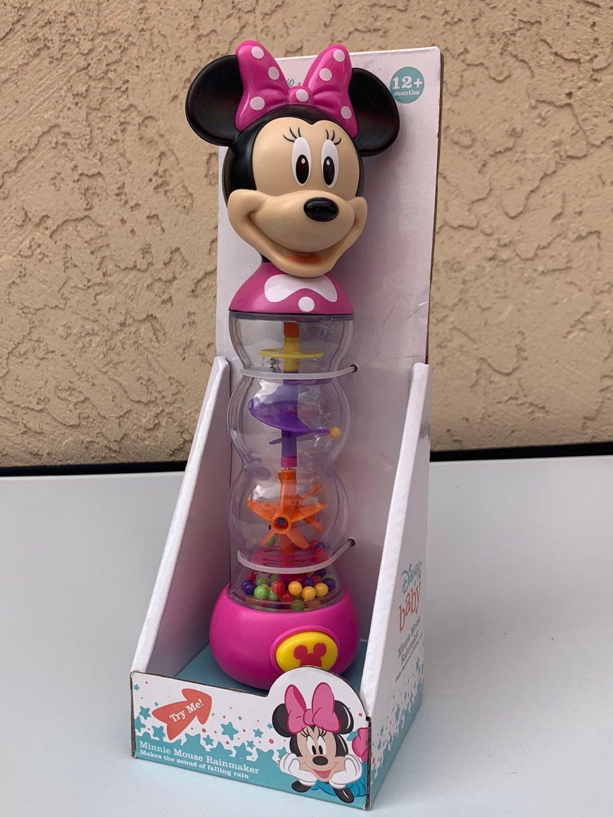Disney Minnie mouse rain maker toy NEW