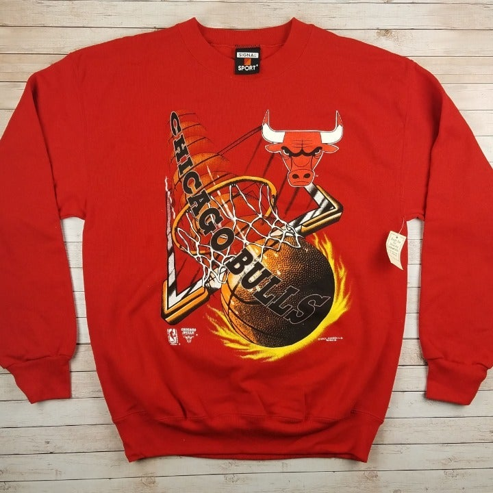 New VTG 90s Chicago Bull MJTs Sweatshirt