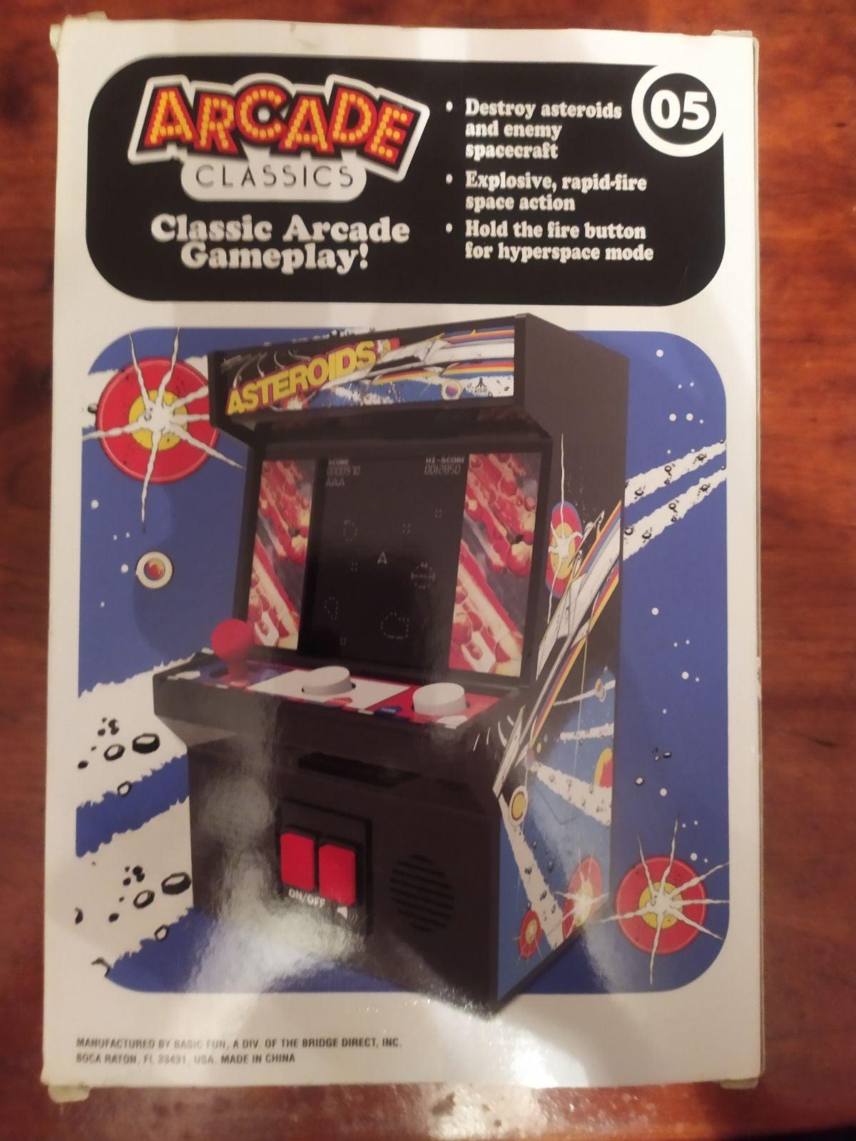Arcade classics astroids