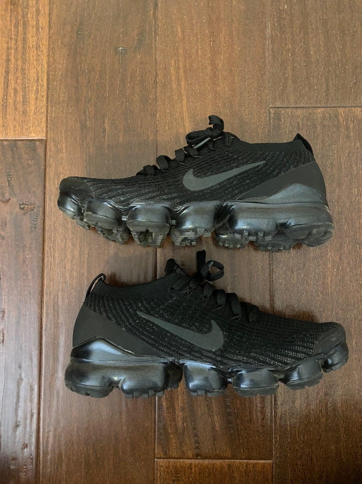 Nike Air Vapormax Flyknit 3 Black • 8.5