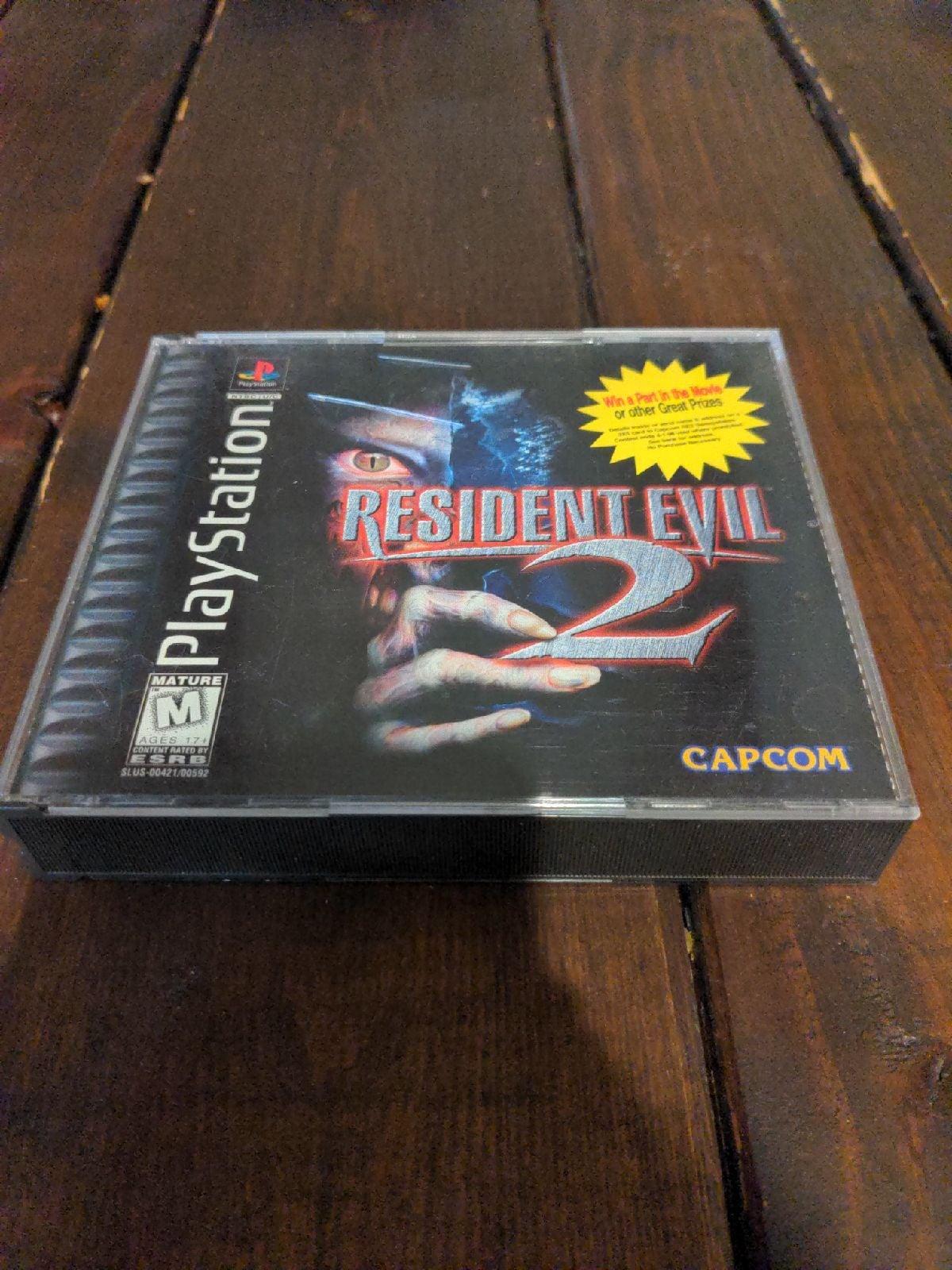 Resident Evil 2 on Playstation 1