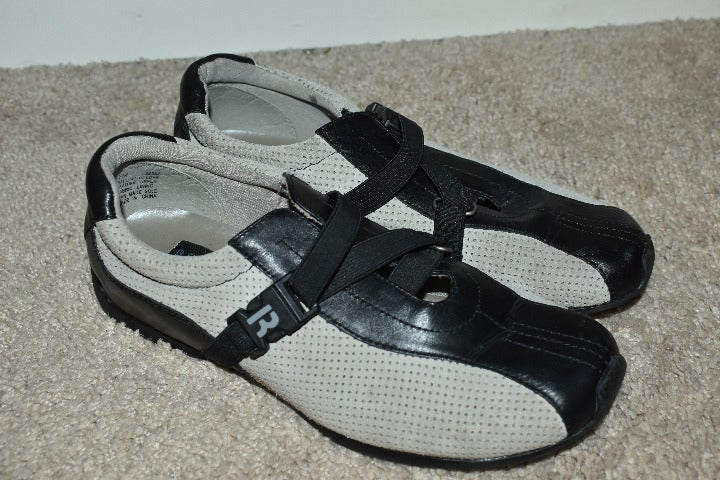 Kenneth Cole Black  Gray Shoes SZ 7