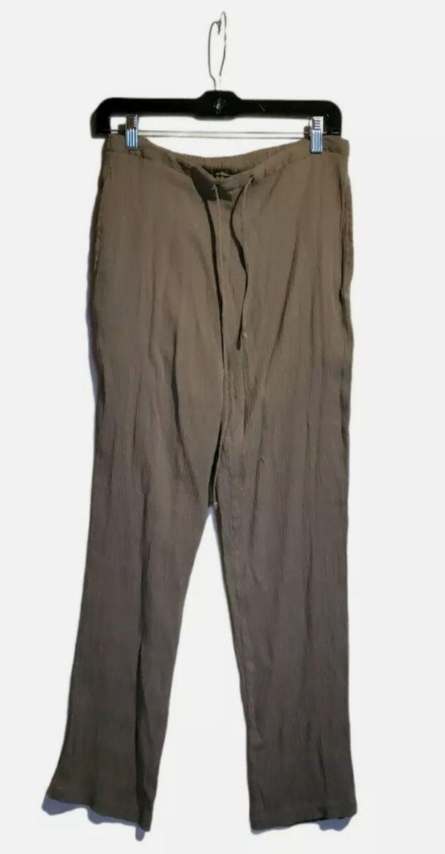 Karen Scott Sport Pants Medium Browm Wom