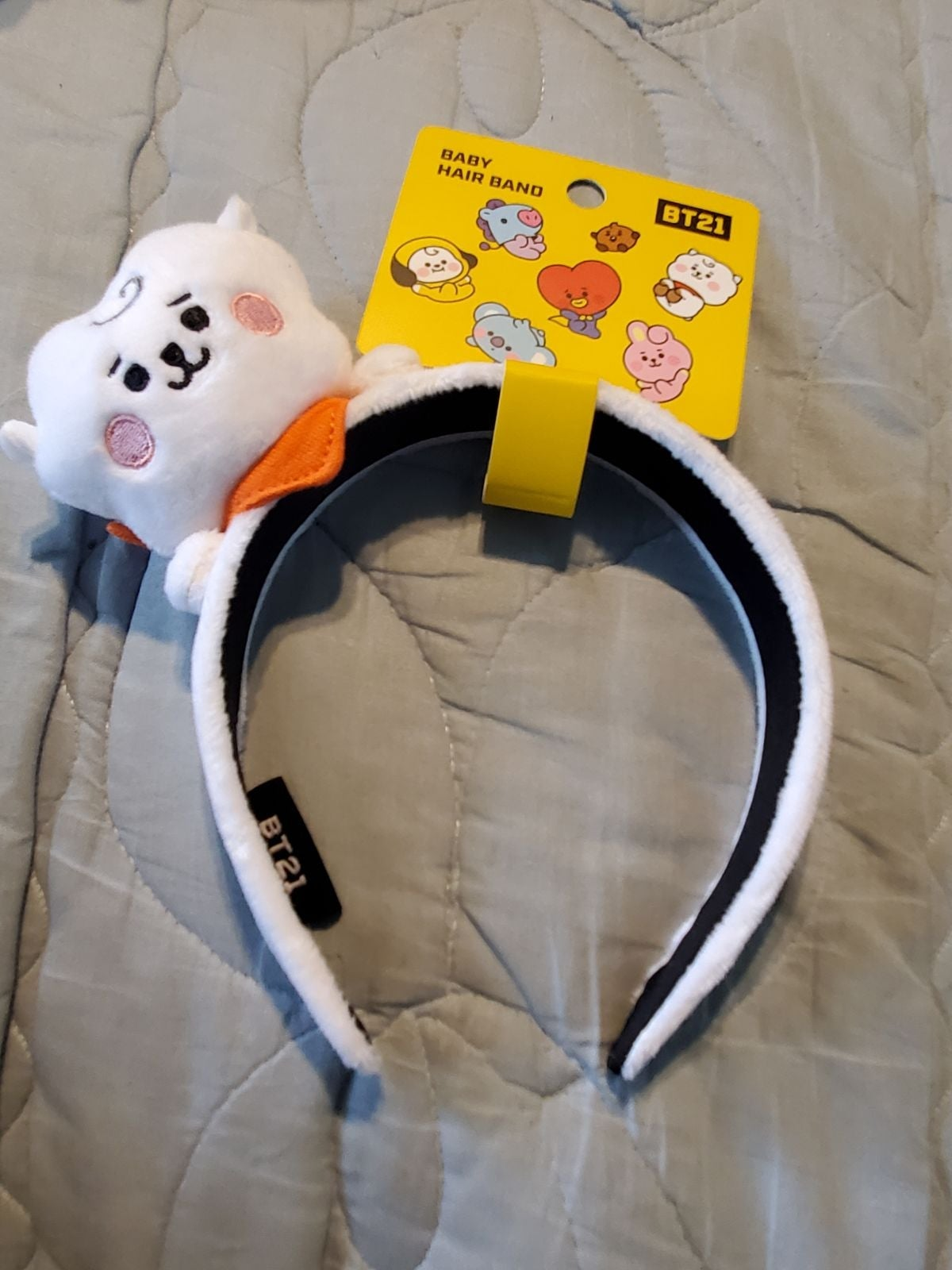 BT21 Baby RJ Headband NEW