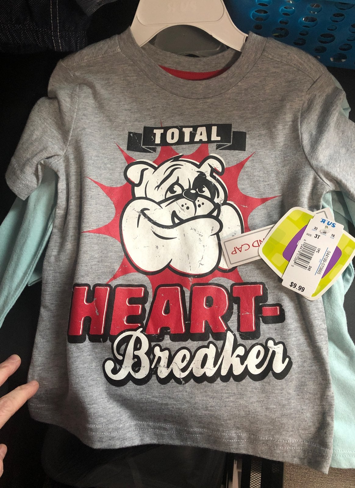 Toddler Valentines Day Shirt