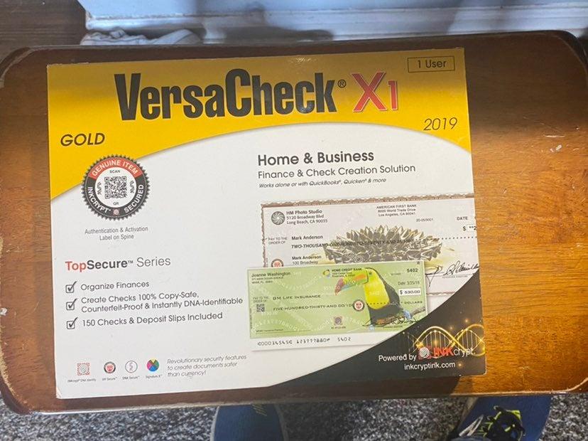 VersaCheck Gold Business Check Software