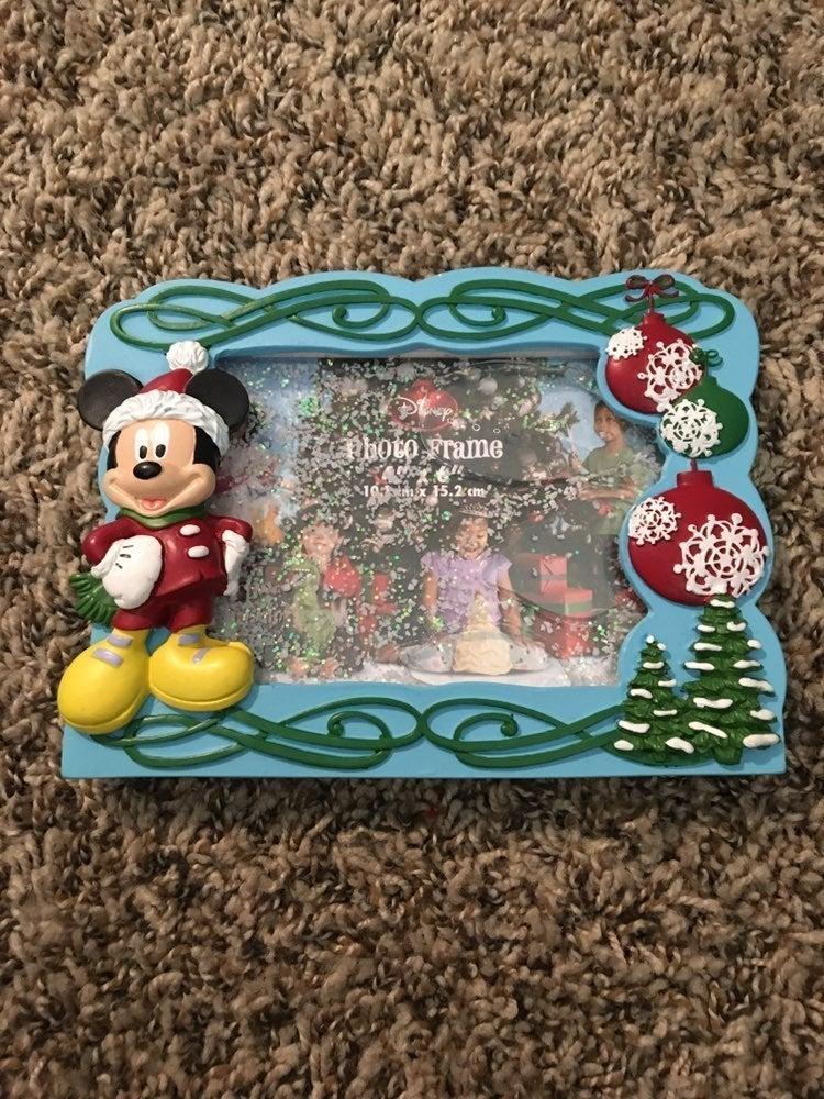 Christmas Mickey Mouse frame