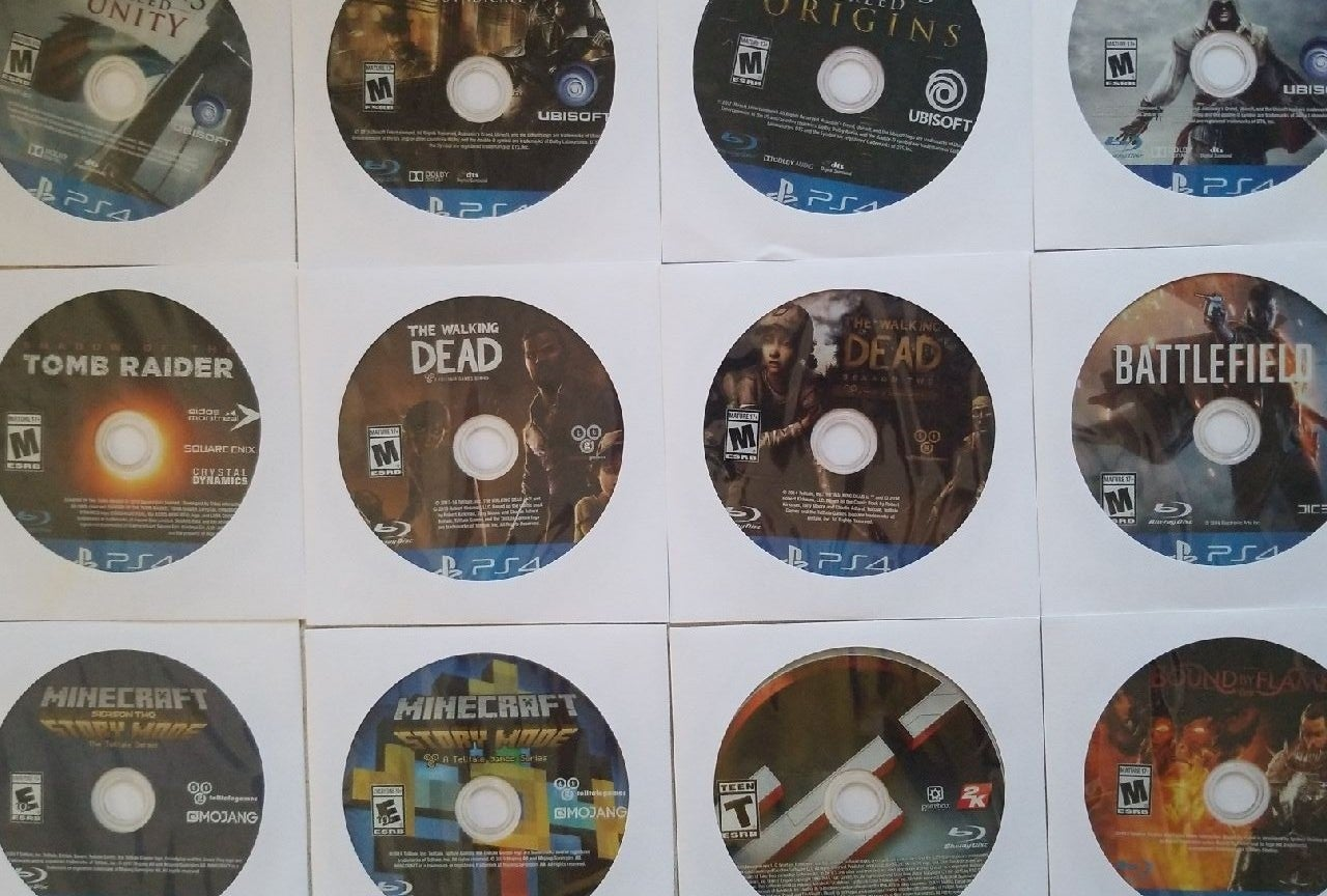 PS4 Playstation Video Game Lot