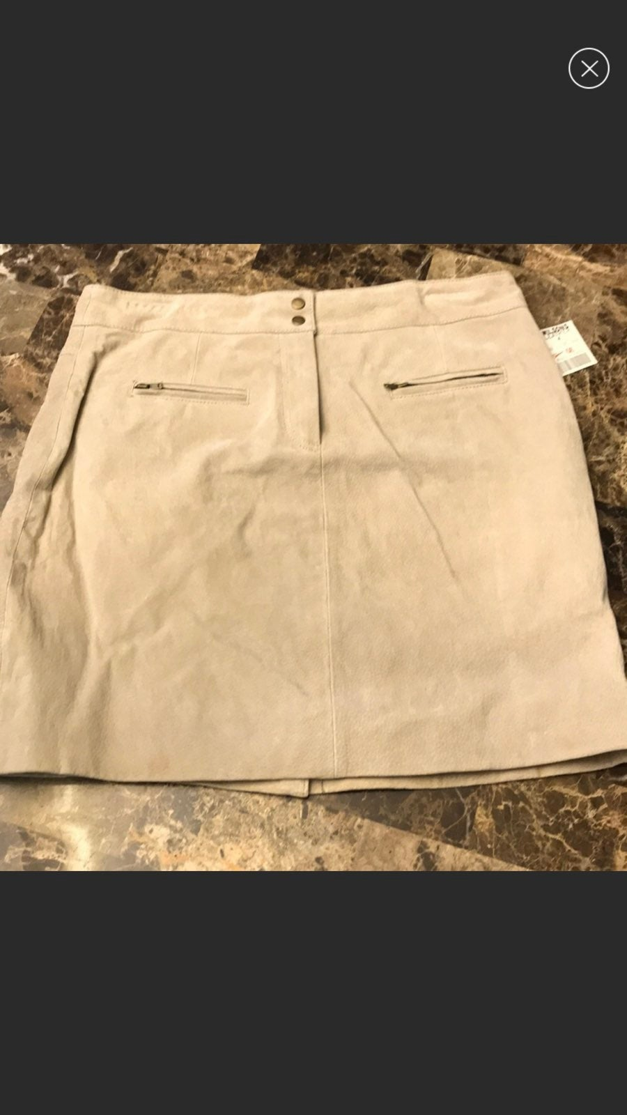 Wilson's Leather Maxima Sz 6 Skirt NWT -
