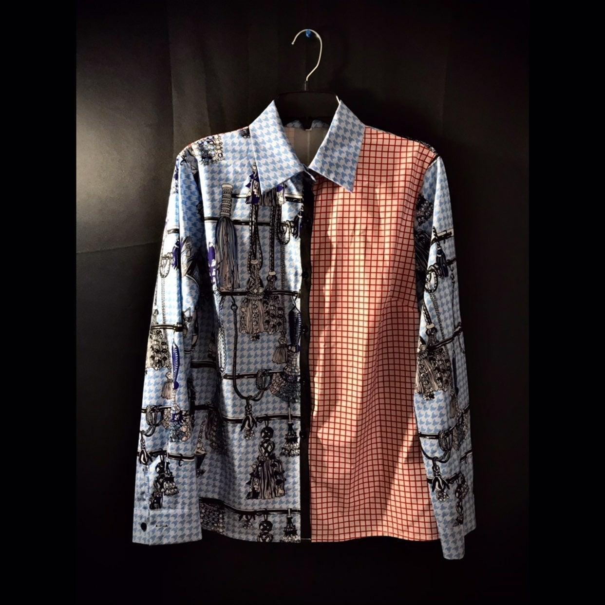 Collared Shirt   Lai Meng: Five Cats