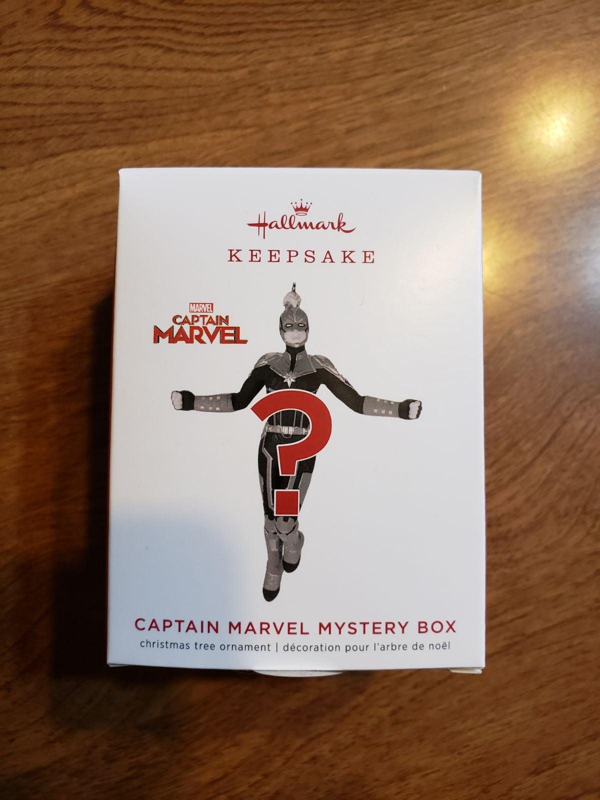 Hallmark 2019 Captain Marvel Mystery orn