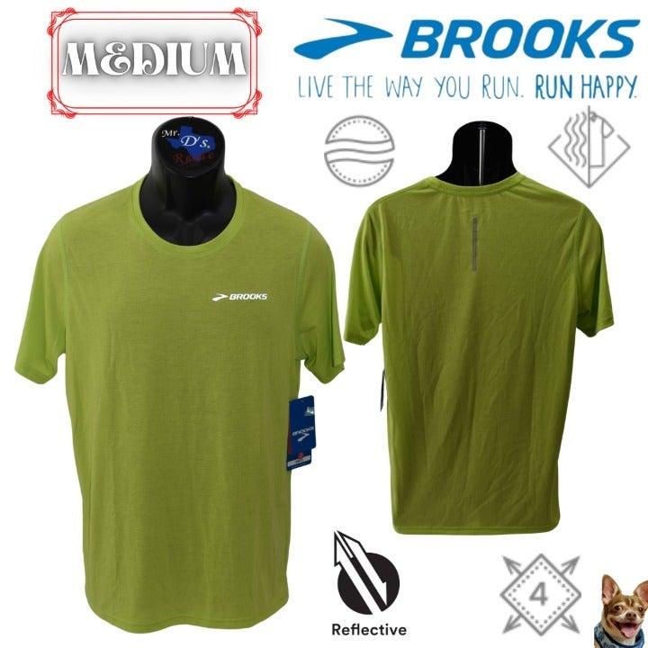 Brooks M EZ T III Heather Lime Green SS