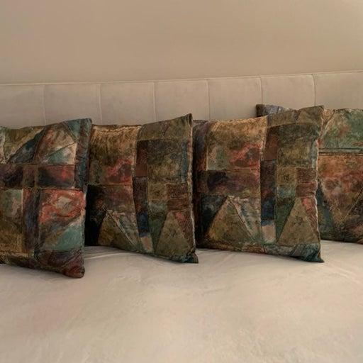 4 Decorative Pillows Kravet fabric