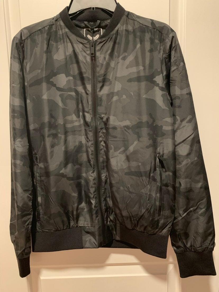 Brave Soul Camouflage Jacket