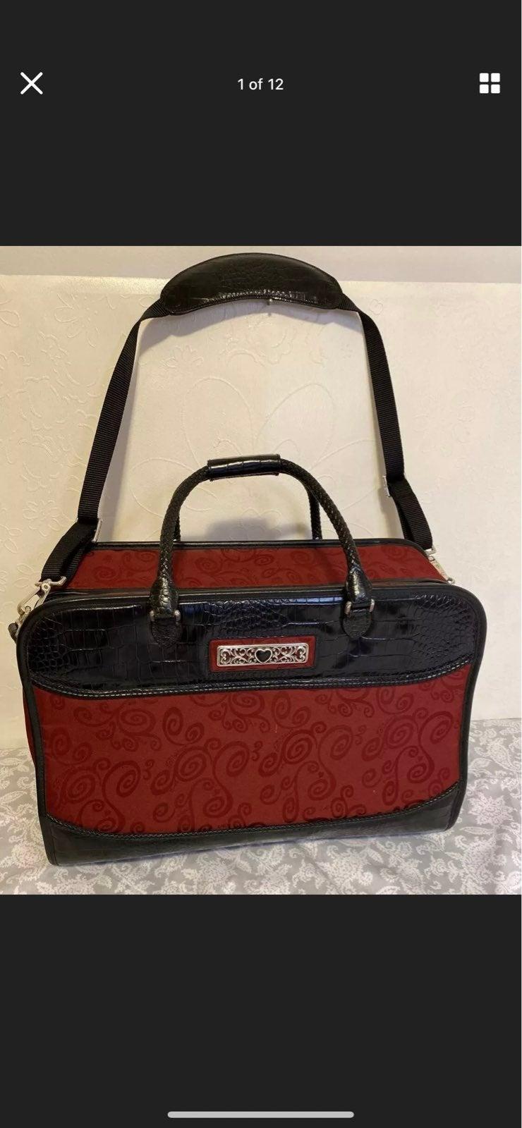Brighton Ruby Red Vintage Bag