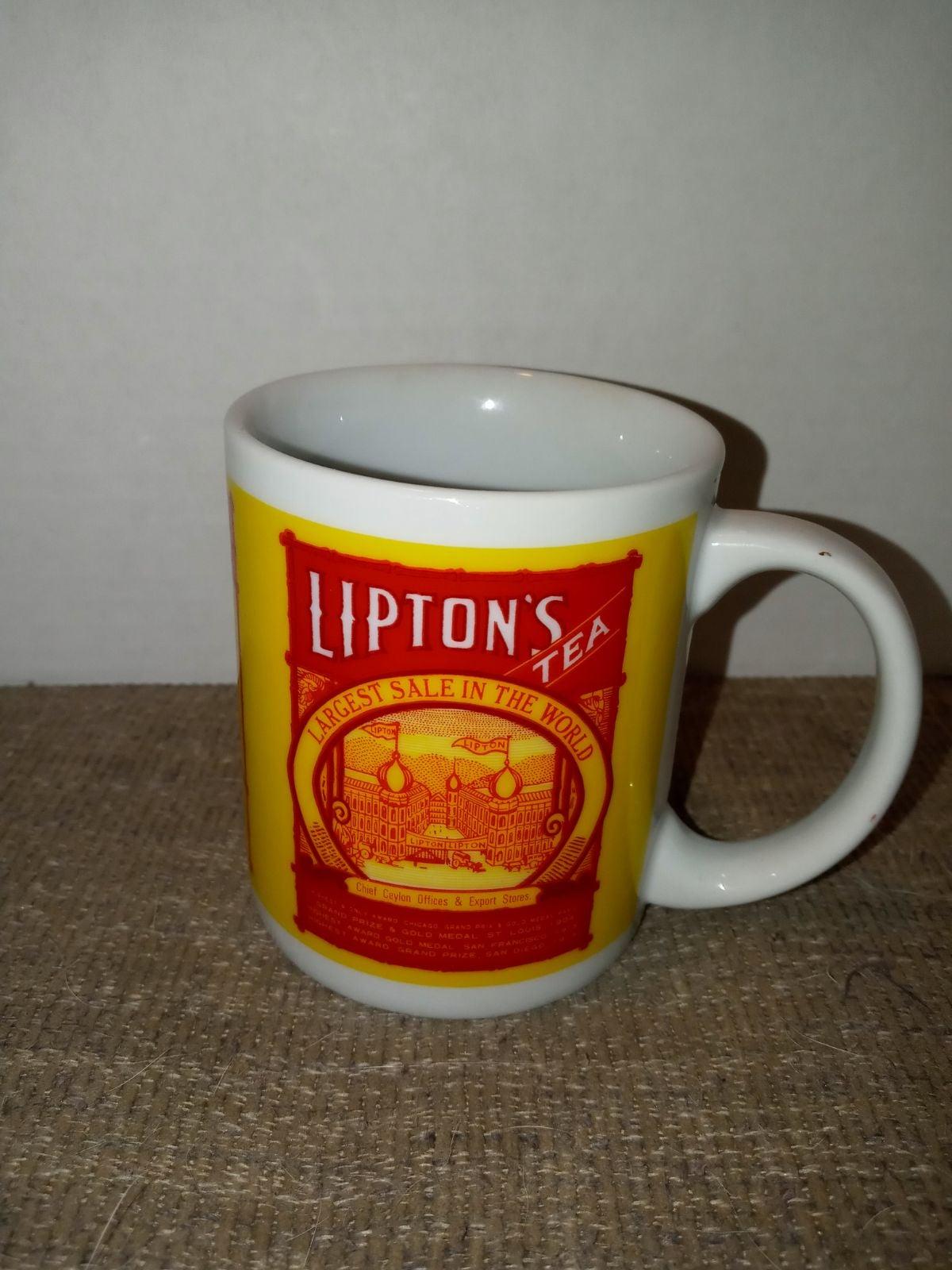 Vintage Lipton Mug
