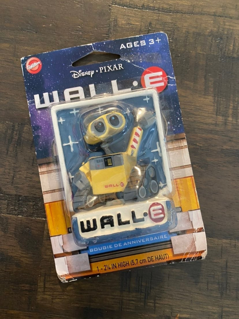 Wall-E Birthday Candle New