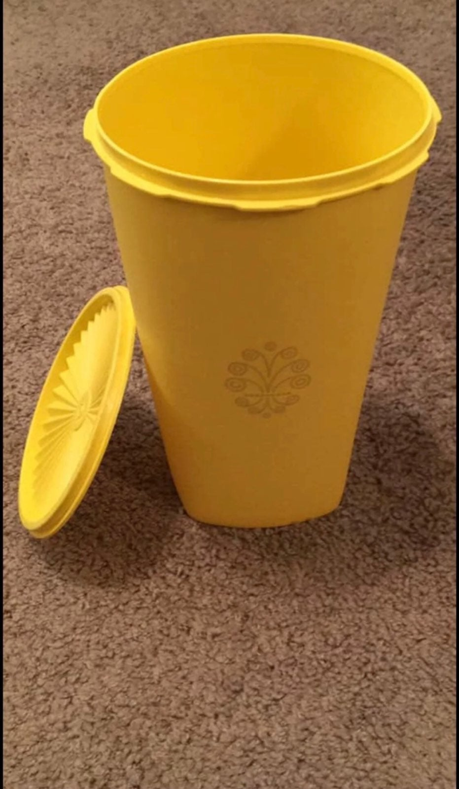 Tupperware canister