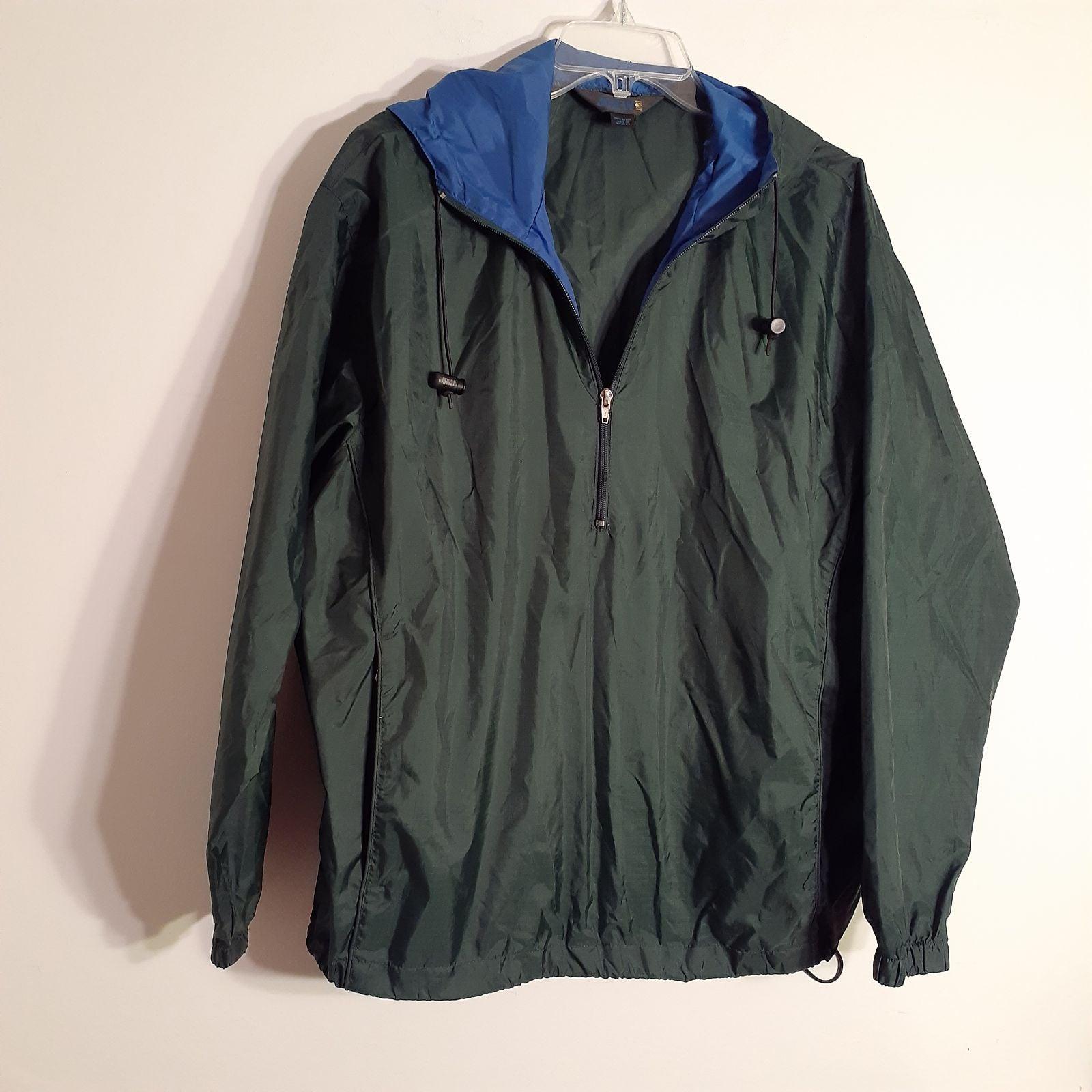 J.Crew windbreaker jacket s / m green