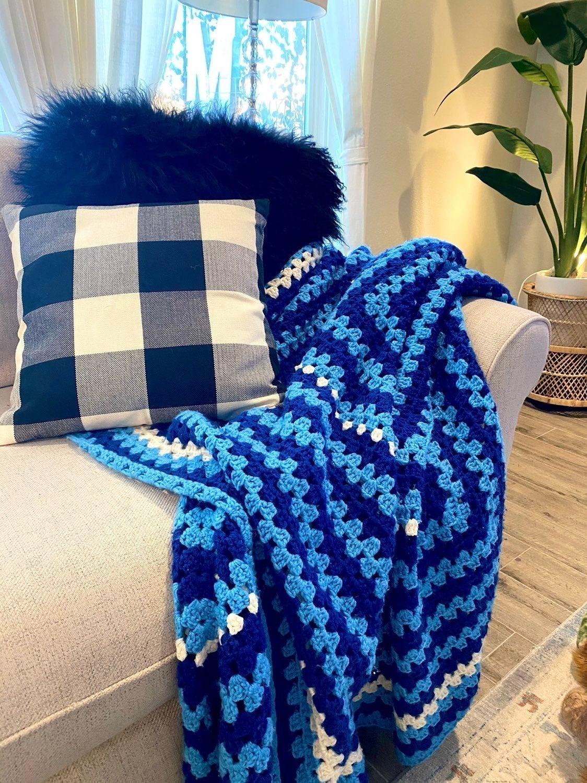 Huge Crochet Blanket