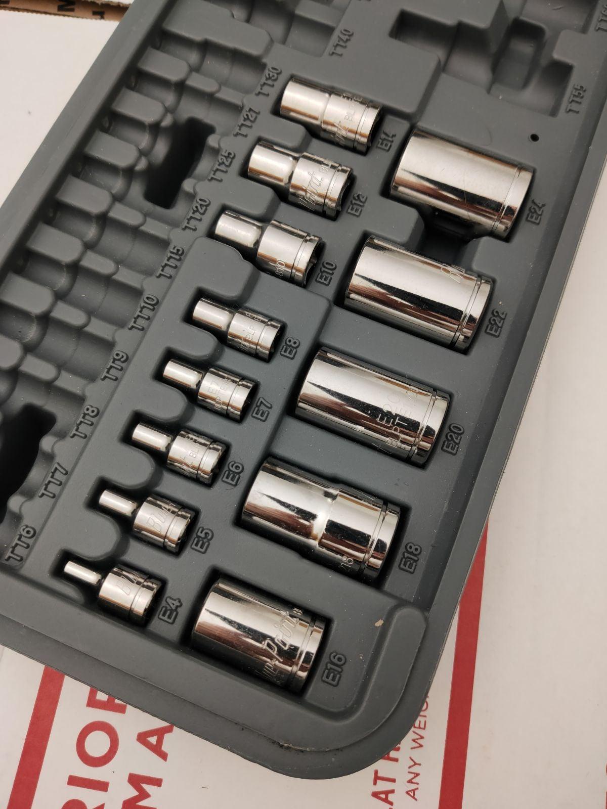 Snap-on tools inverted torx set