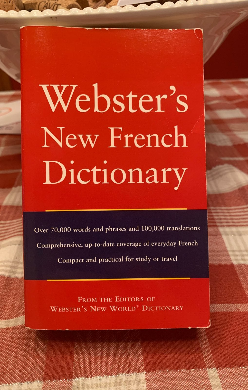 WEBSTER'S NEW FRENCH DICTIONARY LEARN FR