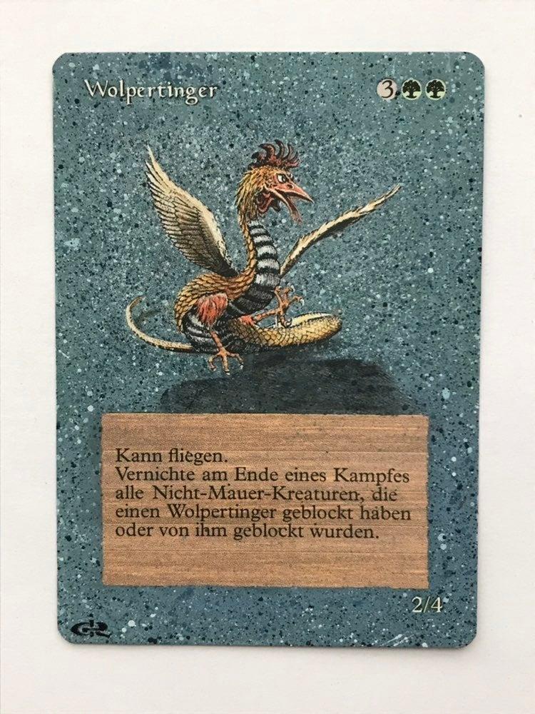 MTG TP Alt Wolpertinger Card