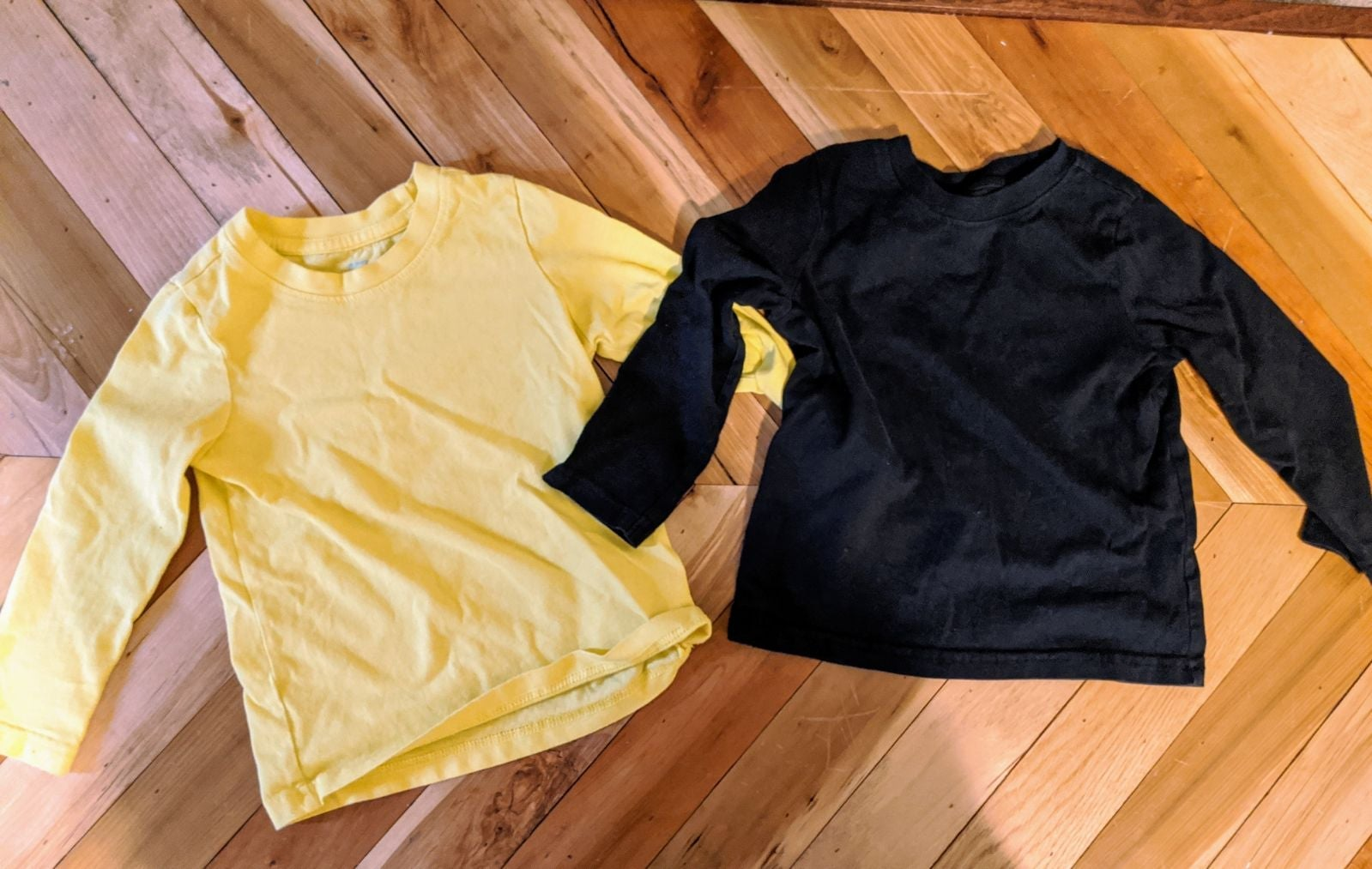 Long sleeve primary shirts