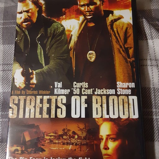 Streets Of Blood dvd