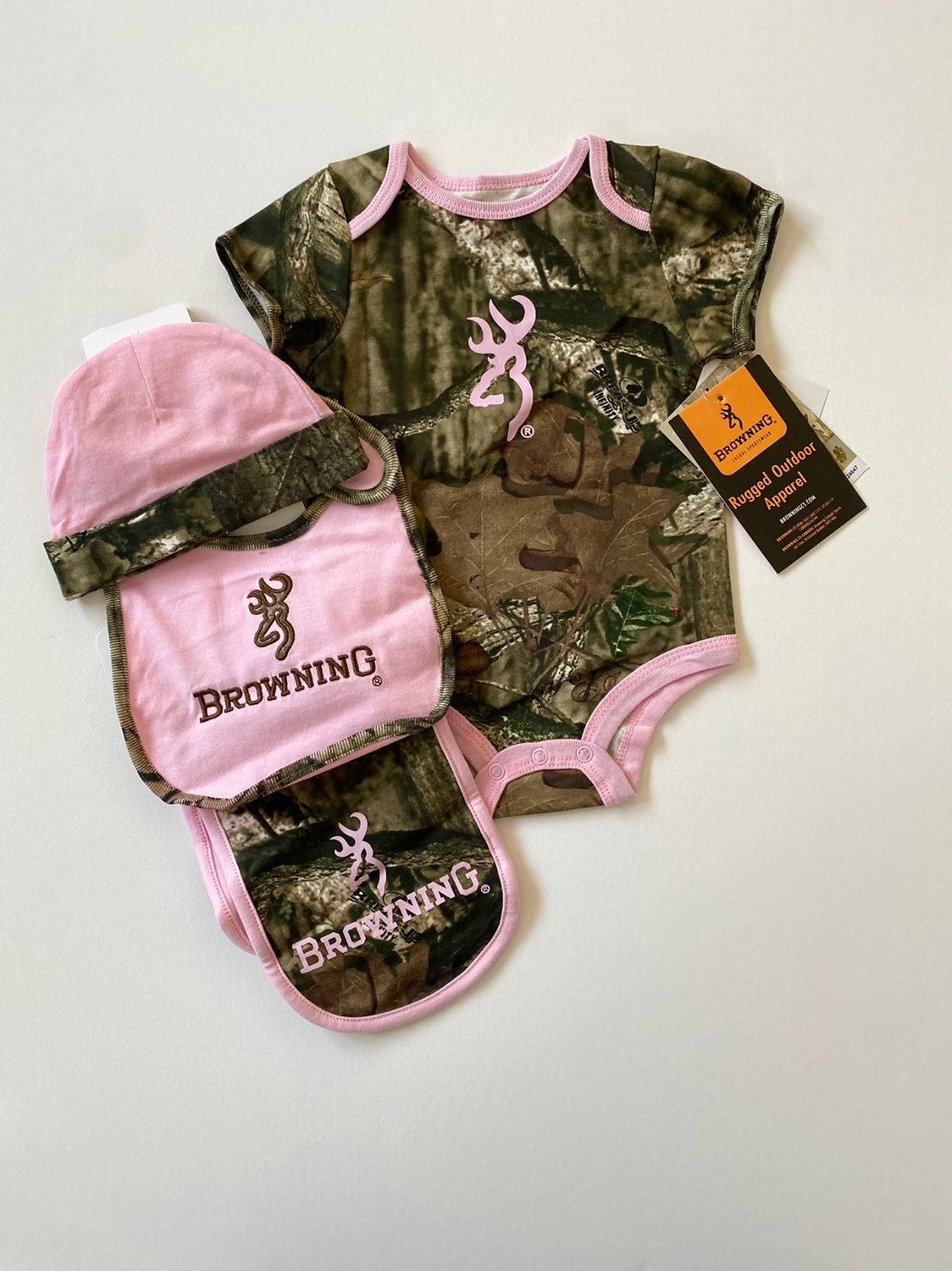 BROWNING baby girl outfit