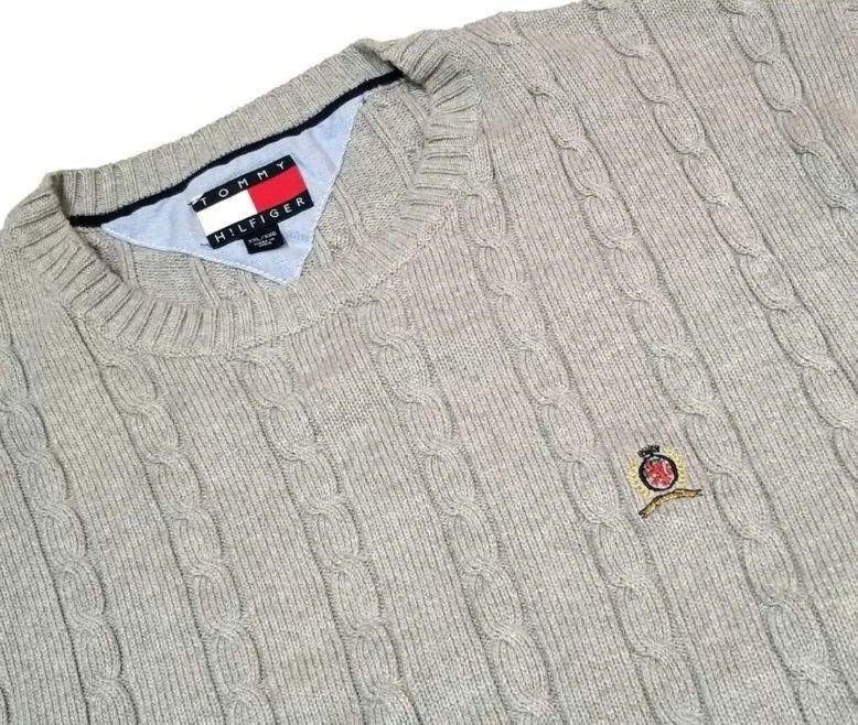 Tommy Hil Crest Sweater 2XL