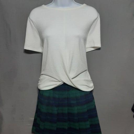 Gap, crisscross front, loose knit top, l