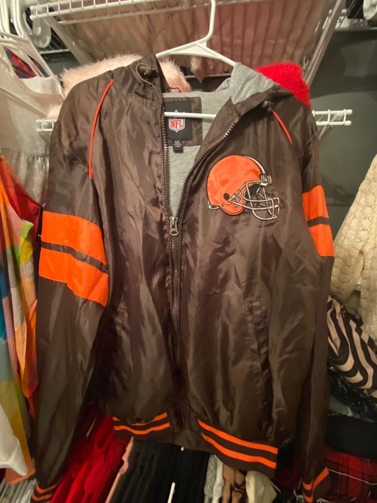 Unisex Cleveland Browns Jacket