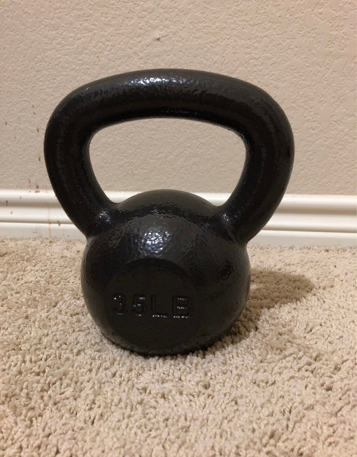 35 pound kettlebell