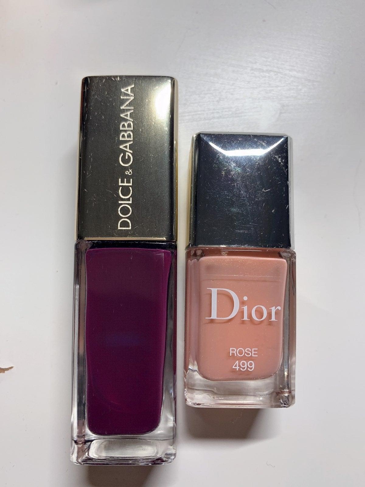 Dior, Dolce&Gabbana Nail Polish bundle