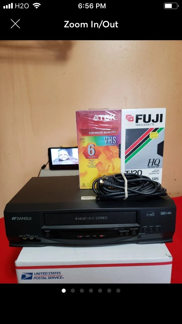 Sansui vcr player