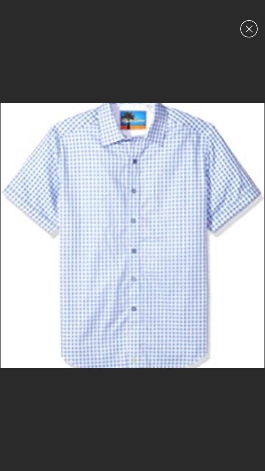 Robert graham isia short sleeve shirt m