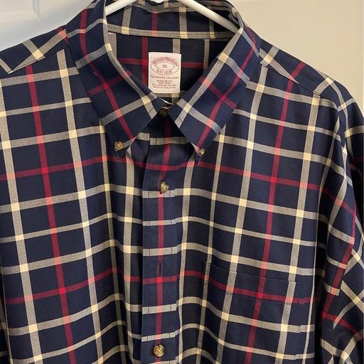 Brooks brothers plaid shirts for men