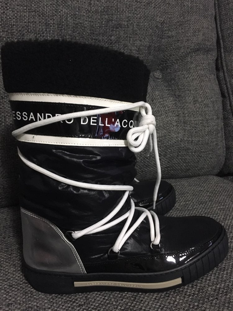 Alessandro Dell'Acqua Boots Waterproof