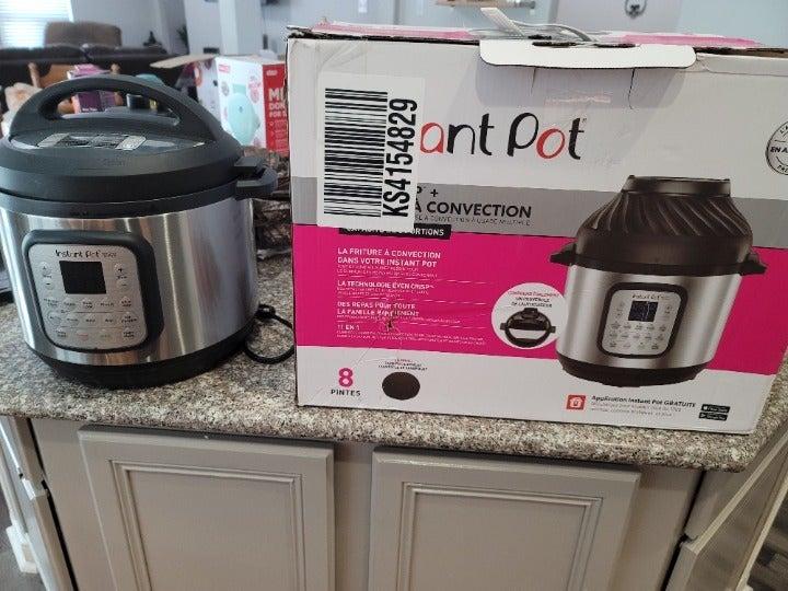 Instant Pot Duo + Air Fryer