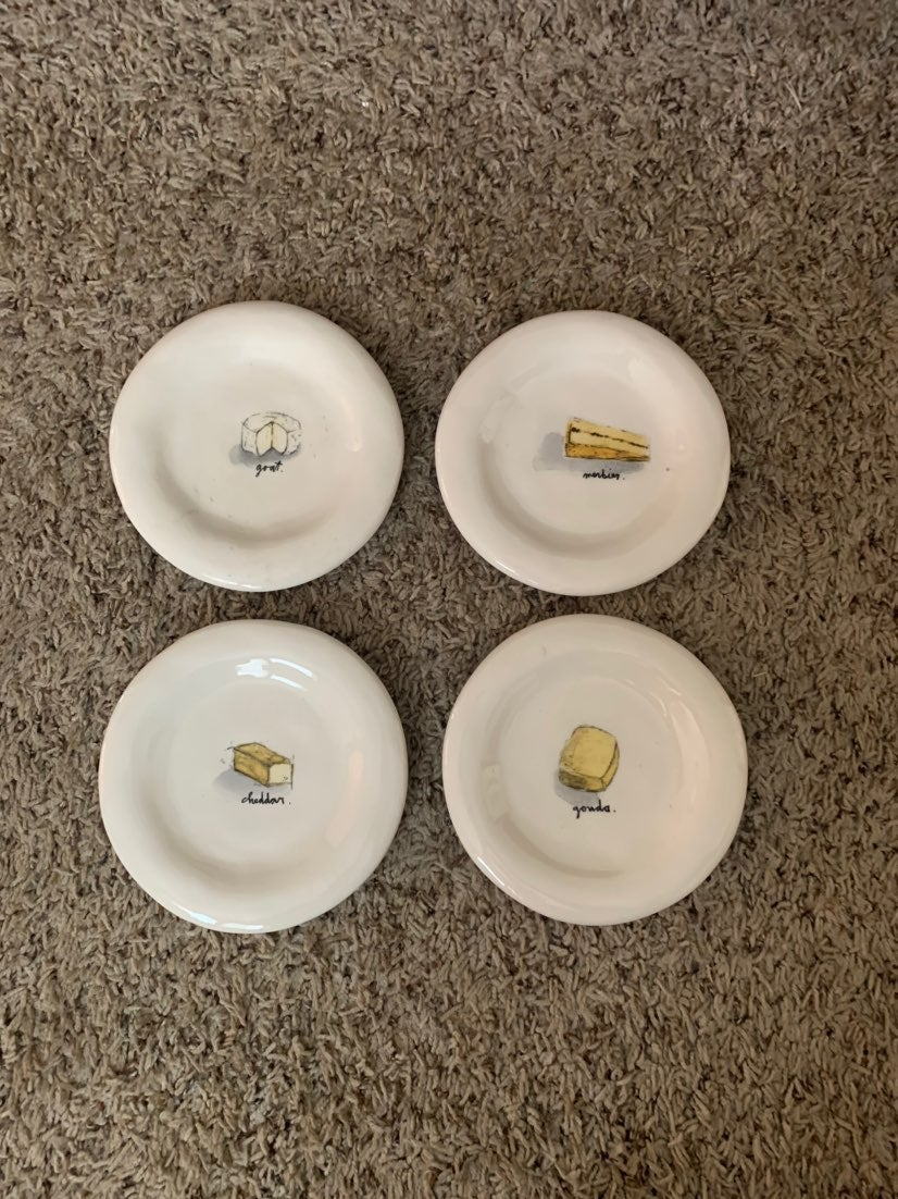 Rae Dunn Cheese Plates