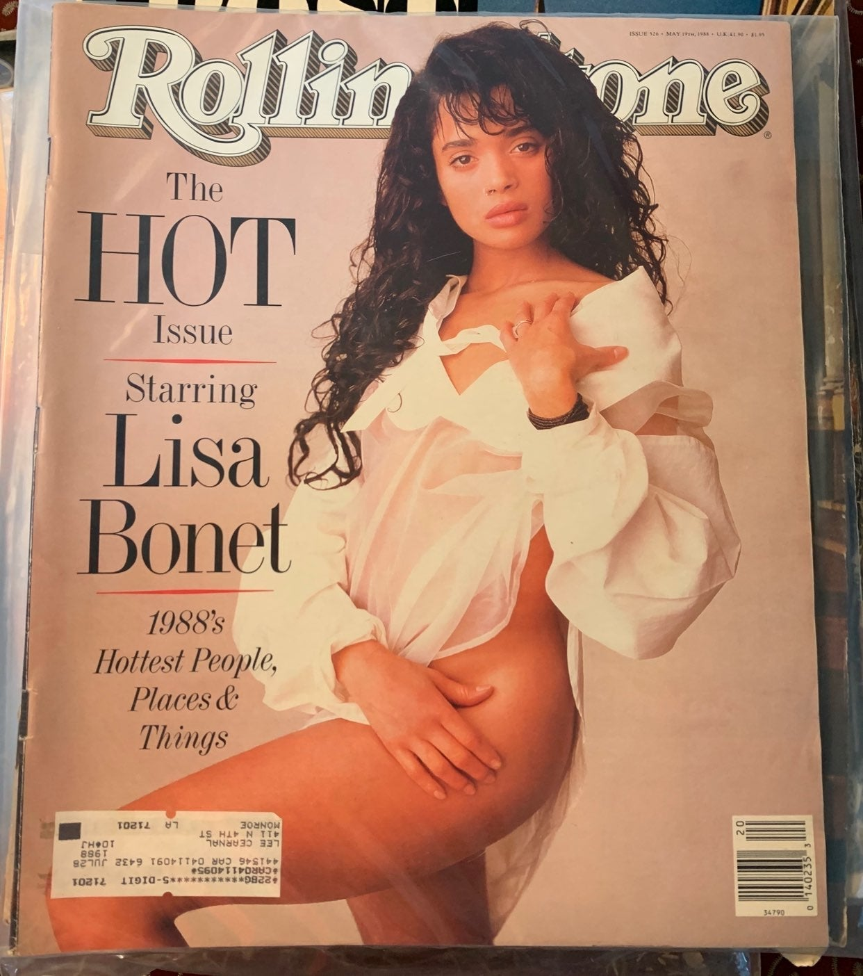 Rolling Stone Lisa Bonet May 1988